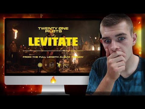 Reacting to twenty one pilots: Levitate [Official Video] (MUST SEE!! BEST REACTION EVER!)