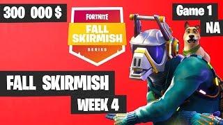 Fortnite Fall Skirmish - Week 4 Game 1 BIG BONUS (SOLOS)