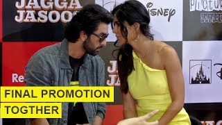 Katrina Kaif And Ranbir Kapoor's LAST Promotion Together For Jagga Jasoos