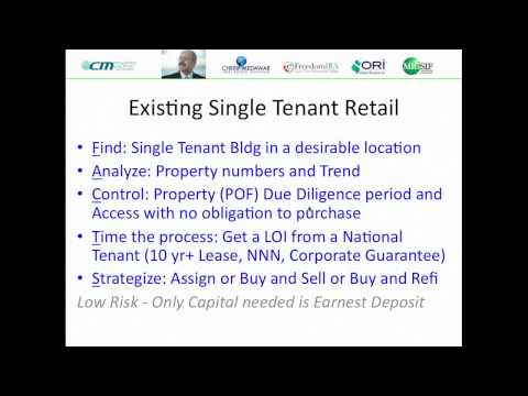 7 Key Points to Line up & Get PAID on a Land Development Retail Deal!