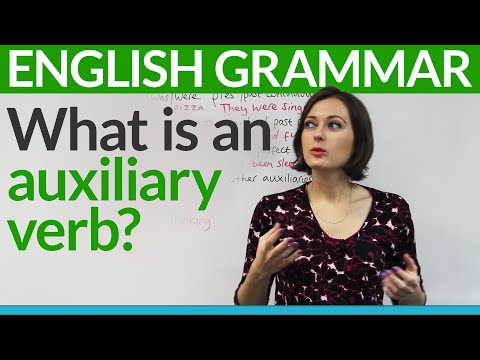 Basic English Grammar: What is an auxiliary verb?