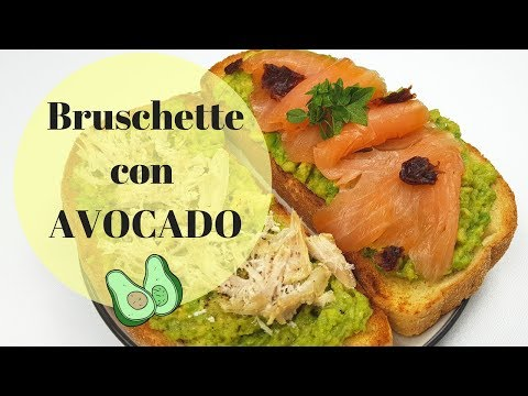 bruschette:-due-idee-con-l'avocado!-|-ricetta---sugardany