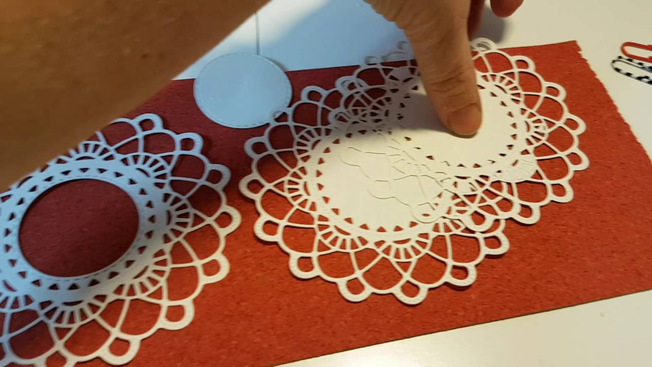 A TIP ON HOW TO ENHANCE A DOILY DIE CUT WITH A DOUBLE STITCH DIE ...