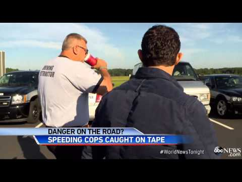Washington Police Caught Speeding Past State Troopers