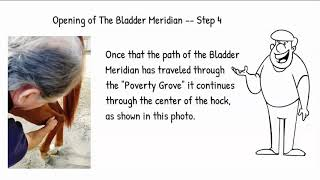Step 2 Open/Close of the Equine  Bladder Meridian
