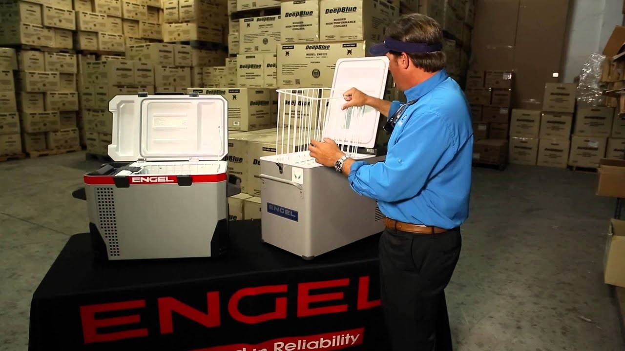 Engel Coolers 12V Ac/Dc Portable Refrigerator And Freezer   Low Amp Draw  Electric Cooler   YouTube