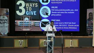 "Pastor Tony Smith|""Power For Tough Times""