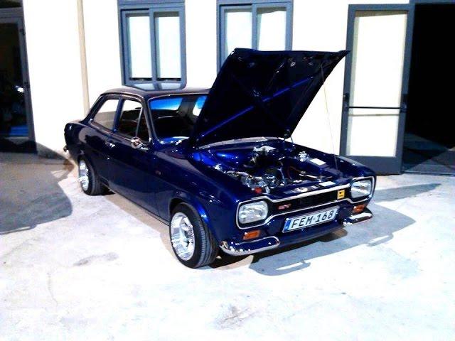 Full Restoration Of Ford Escort Mk1 1968 By Steve Spiteri Youtube