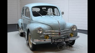 Renault 4CV 1957 Beautiful restored condition -VIDEO- www.ERclassics.com