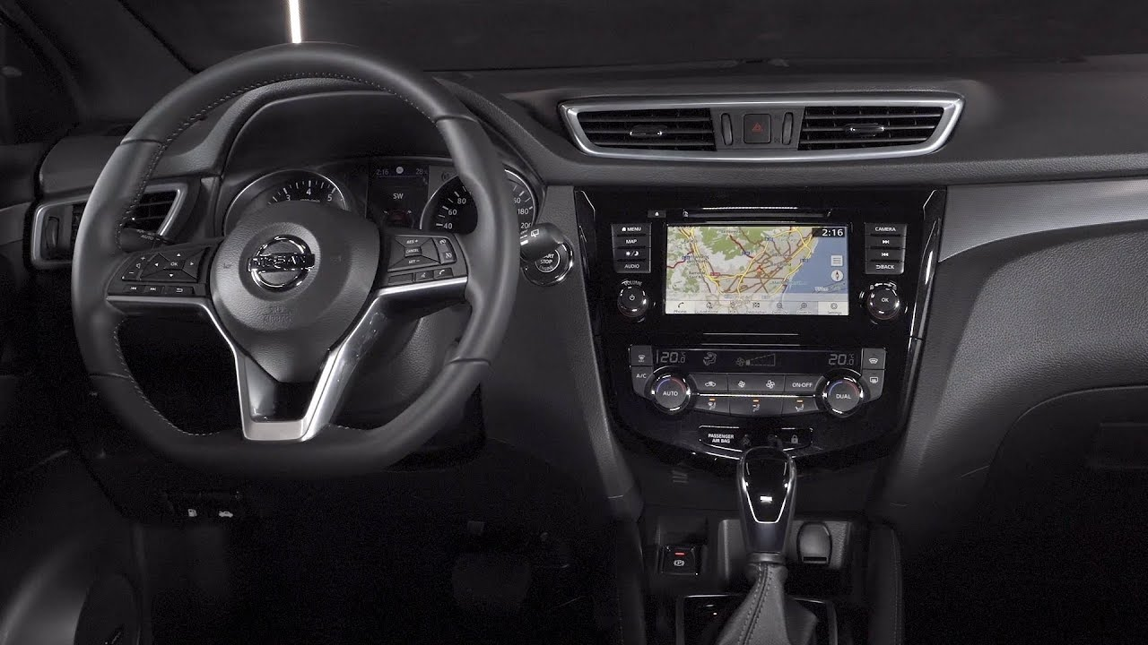 2019 nissan qashqai interior 1 3 litre engine youtube. Black Bedroom Furniture Sets. Home Design Ideas