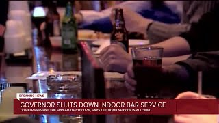 Whitmer halts indoor service at bars in most of Michigan –outdoor service can continue