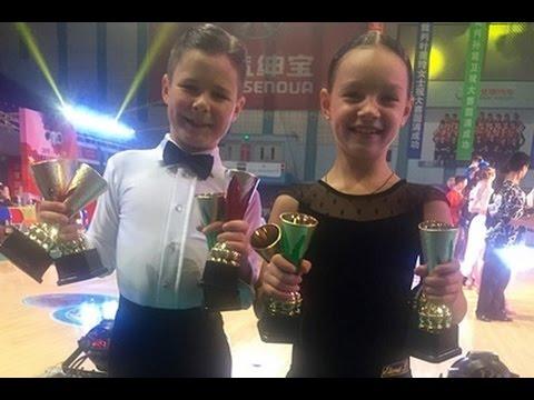 Чемпионы мира по бальным танцам - пара детей из Днепра