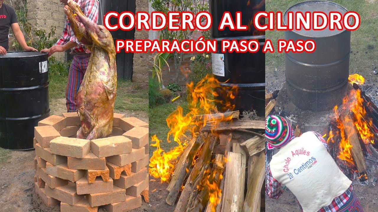 """CORDERO RELLENO AL CILINDRO """"MEJOR SABOR IMPOSIBLE"""""""