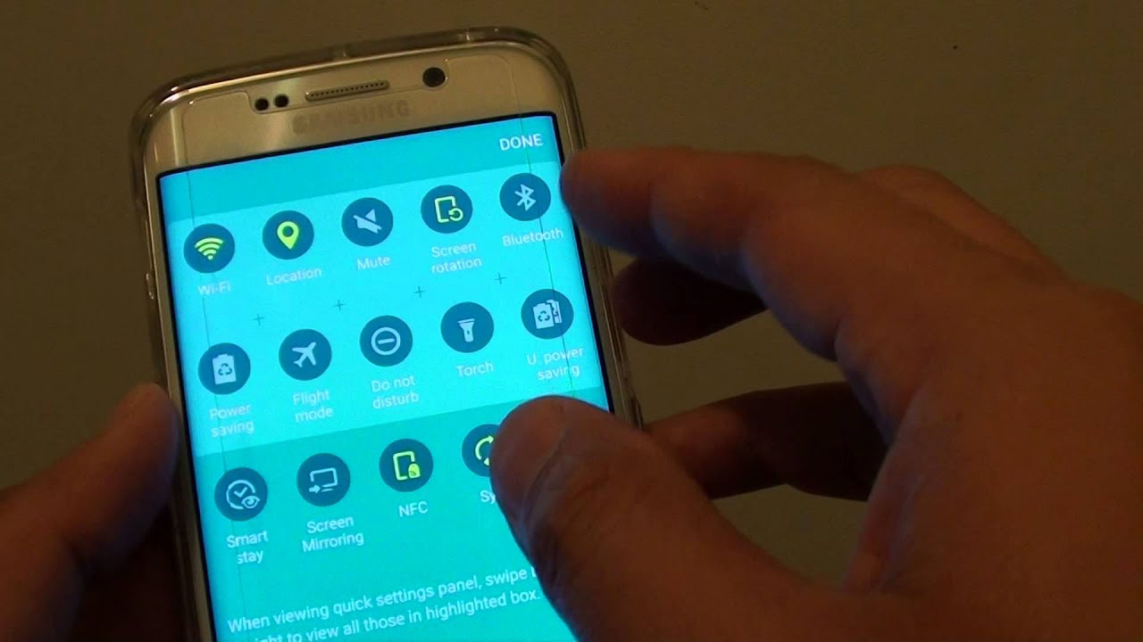 Samsung galaxy s6 edge turn on mobile data with missing mobile data samsung galaxy s6 edge turn on mobile data with missing mobile data icon from quick access youtube buycottarizona Images