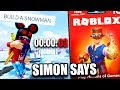 🔴 JAILBREAK SIMON SAYS! (Winner Gets Robux Code) | Roblox LIVE | Roblox Jailbreak New Winter Update