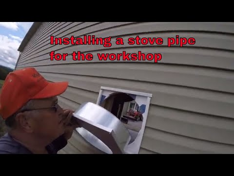 Duravent 6 duraplus through the wall -- how to install--Part 1