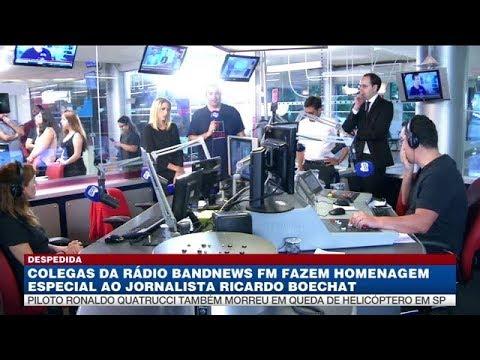 Colegas da BandNews FM fazem homenagem especial a Boechat