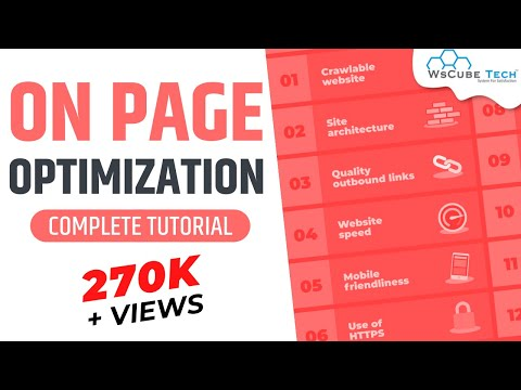 On Page optimization | On page SEO | Website analysis | SEO in Hindi-Part 4
