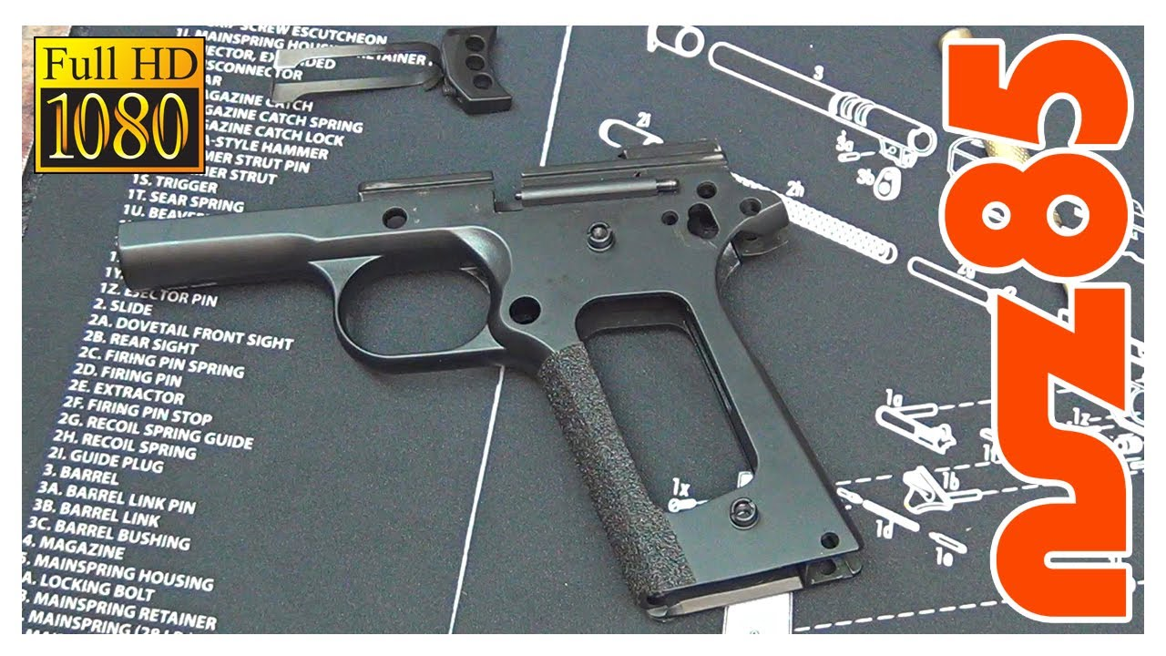 Taurus Pt 1911 Schematic Diagram Unlimited Access To Wiring Detailed Disassembly Youtube Rh Com Extended Magazine Parts