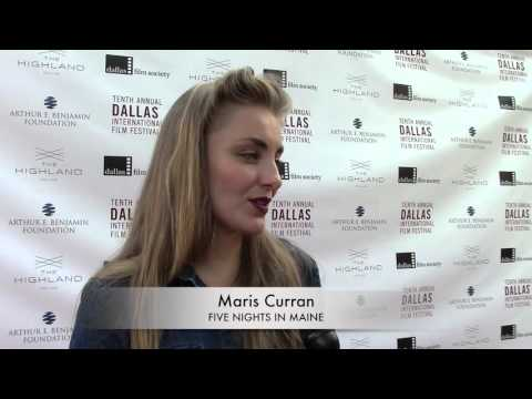 DIFF 2016 Red Carpet: Maris Curran - FIVE NIGHTS IN MAINE