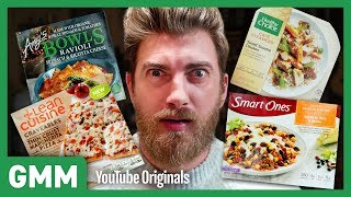 blind fried chicken taste test rhett and link