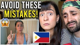 DON'T DO THIS in the PHILIPPINES! - Reaction