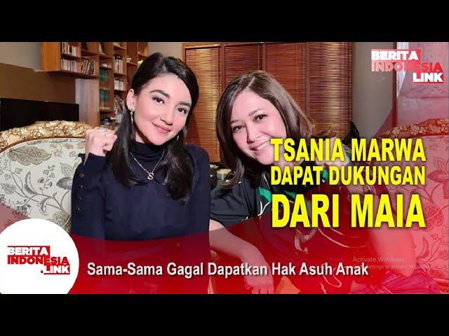 Tsania Marwa Senasib Dengan Maia Estianty