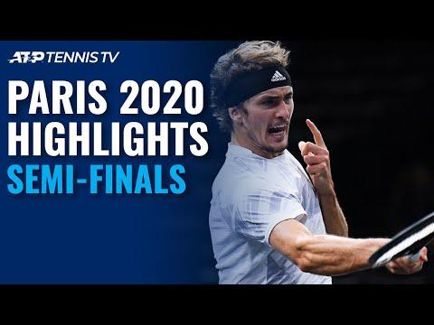 Medvedev Rolls; Zverev Stops Nadal | Paris 2020 Semi-Final Highlights