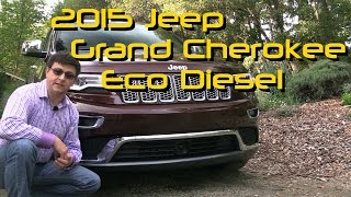 2015 Jeep Grand Cherokee Summit Diesel Detailed Review and Road Test