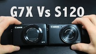 CANON G7X Vs S120   BEST VLOGGING CAMERA   video, audio tests and unboxing (300)