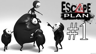 Escape Plan Walkthrough Part 1 PS4 Gameplay With Commentary 1080P