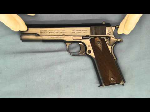 US Marine Corps and Colt's Model 1911 Pistol .45 ACP