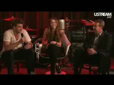 Miley Cyrus  Chat 32610  The Last Song Cast Part 2 46