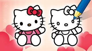 How To Draw Hello Kitty - Step by Step