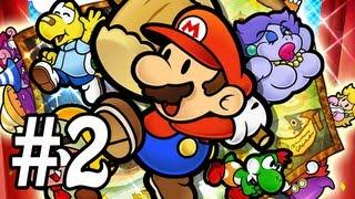 Paper Mario : La Porte Millénaire Let's Play - Episode 2 [Live]