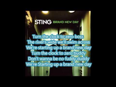 Sting Brand New Day Lyrics