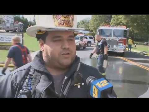 Fire Damages Ohr V'Daas RISE (Rockland Institute for Special Education) in Spring Valley.