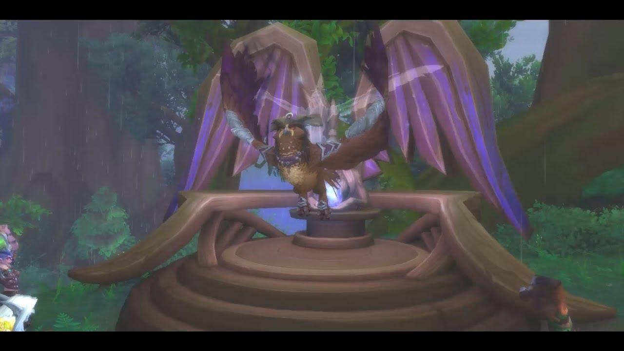 VenConPapi - Druid Class Mount and Quest - Archdruid's Lunarwing ...