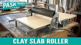 Clay Slab Roller