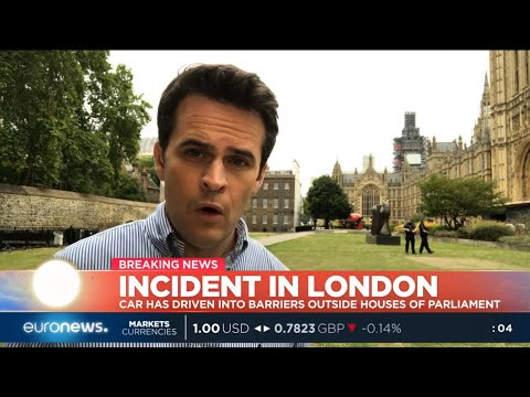 #GME | A car has crashed into security barriers outside of the Houses of Parliament.