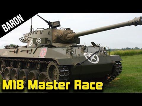 War Thunder M18 Hellcat Master Race - War Thunder 1.70 NEW US Tank Destroyers