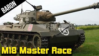 War Thunder M18 Hellcat Master Race - War Thunder 1.70 NEW US Tank Destroyers