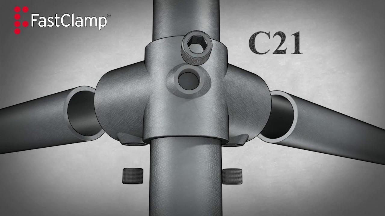 Fastclamp Giunti In Ghisa Strutture Metalliche Tubolari