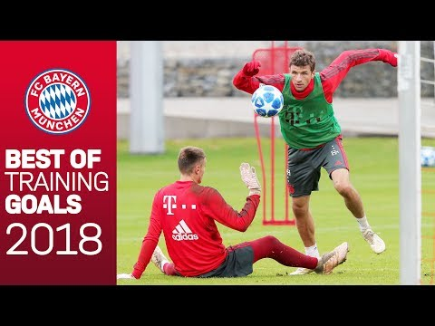 BEST of FC Bayern's Training Goals in 2018