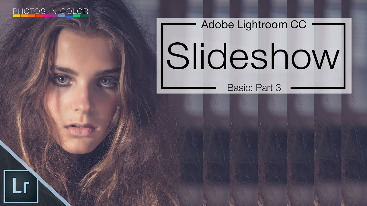Lightroom Slideshow Tutorial - How to create a Slideshow in ...