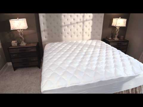 Five-Star Hotel Mattress Topper with Fitted Skirt