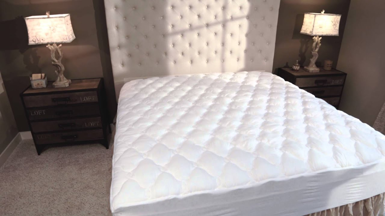 Five Star Hotel Mattress Topper with Fitted Skirt