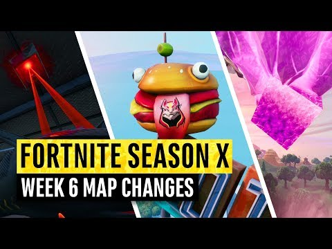 Fortnite | All Season X Map Updates And Hidden Secrets! WEEK 6