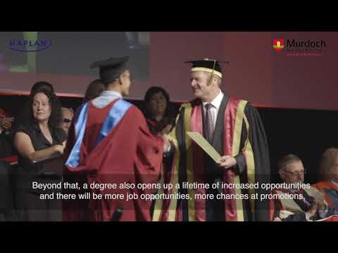 Why obtain a Bachelor's Degree from Murdoch University?