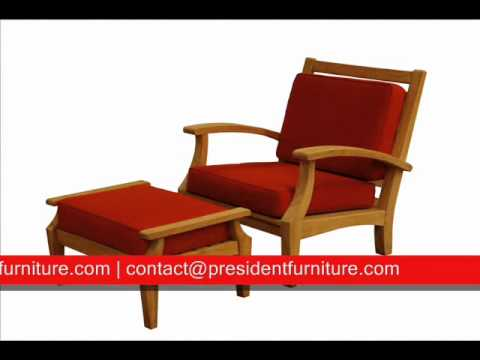 Teak Deep seating for garden outdoor patio furniture by PRESIDENT FURNITURE
